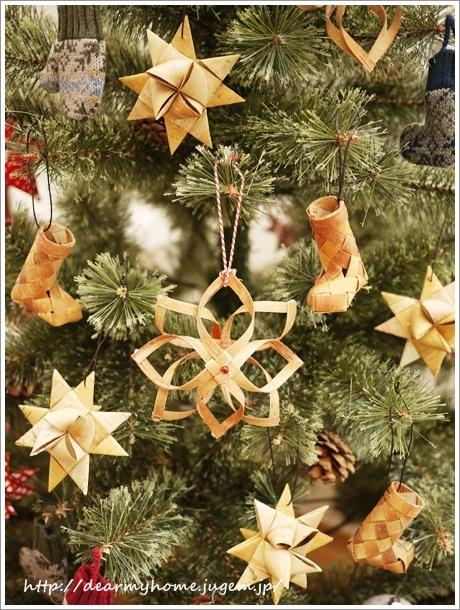 白樺のオーナメント@クリスマスツリー用が完成♪